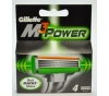 GILLETTE M3POWER 4SZT NOŻYKI DO GOLENIA